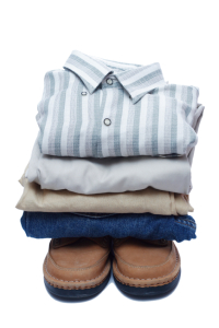 image of clean laundry