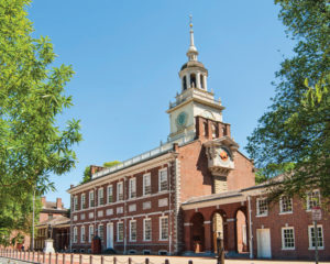 image of independence hall